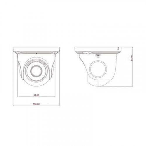 AHD-видеокамера TVT TD-7544AE (D / IR1) HD