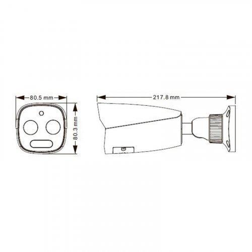 TD-5423E1 (FT / PE / VT1) IP-видеокамера тепловизионная