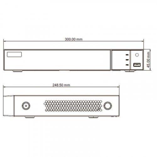 IP видеорегистратор TVT TD-3116B1