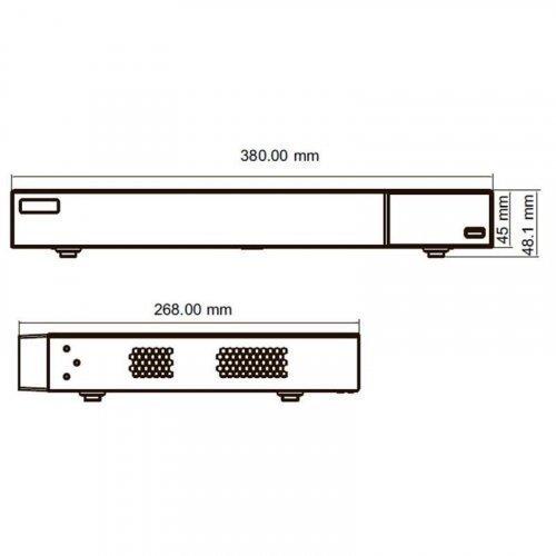 IP видеорегистратор TVT TD-3116B2