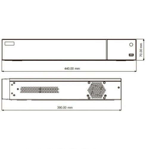 IP видеорегистратор TVT TD-2716AE-P