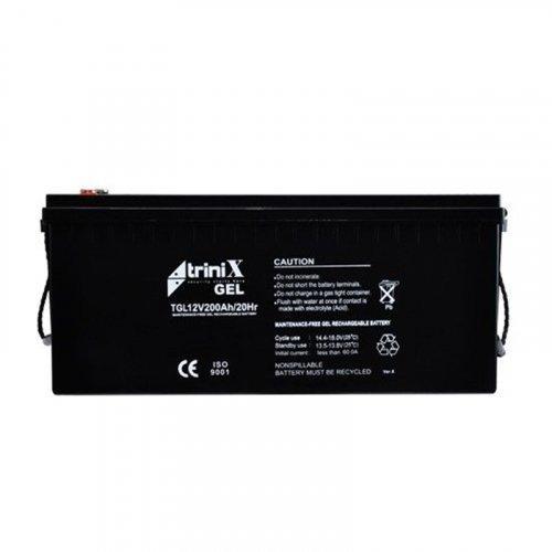Гелевый аккумулятор Trinix АКБ 200 Ач, 12 В GEL