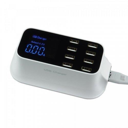Зарядное устройство Trinix USB YC-CDA19A на 8 портов