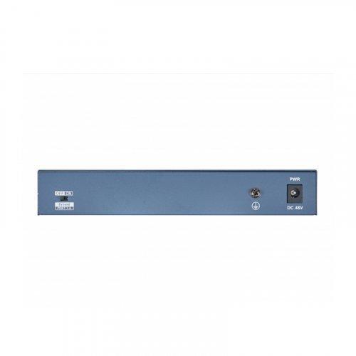 8 портовый POE коммутатор Hikvision DS-3E0109P-E/M(B)