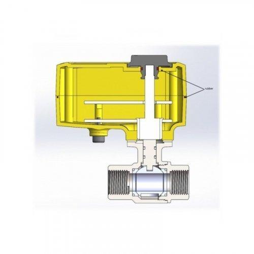 Кран с электроприводом Neptun PROFI 220В 1
