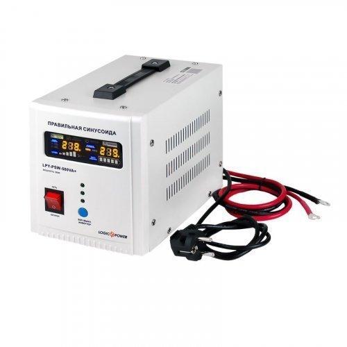 ИБП Logic Power с правильной синусоидой 12V LPY-PSW-500VA+ (350Вт) 5A/10A