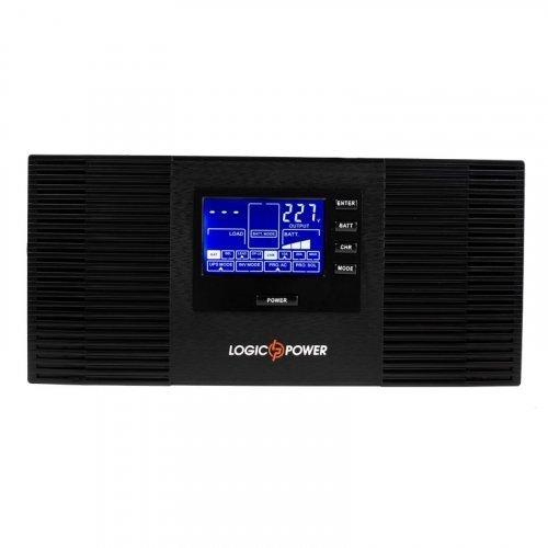 ИБП Logic Power с правильной синусоидой (подключаемая внешняя батарея 12V) LPM-PSW-1500VA (1050Вт)