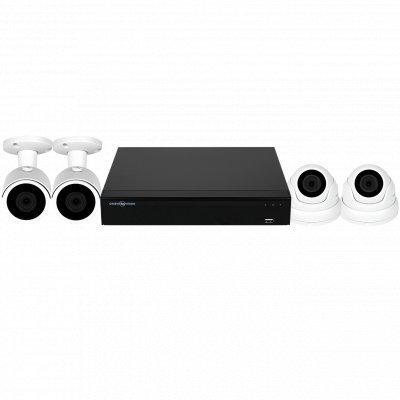 AHD комплект видеонаблюдения GreenVision GV-K-S17/04 1080P