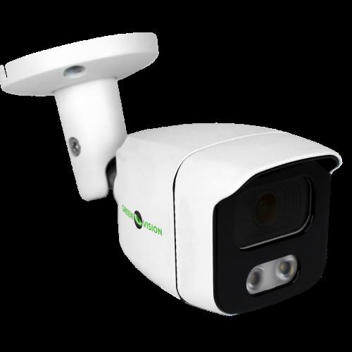 Антивандальная IP камера Green Vision GV-108-IP-E-СOS50-25 POE 5MP