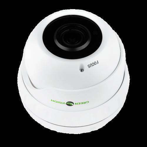 Антивандальная IP камера Green Vision GV-002-IP-E-DOS24V-30 3MP POE