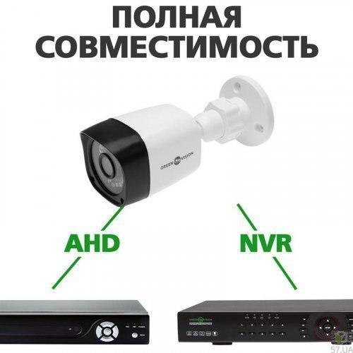 Гибридная наружная камера Green Vision GV-040-GHD-H-COS20-20 1080Р