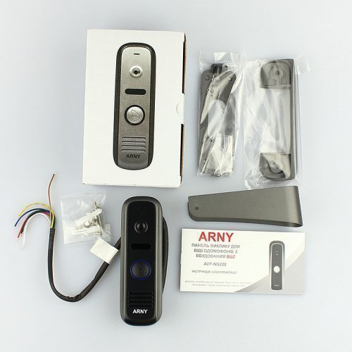 Комплект домофона  ARNY AVD-7152 Белый \ Черный