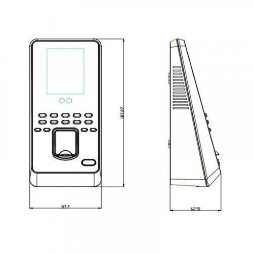 ZKTeco MultiBio800-H