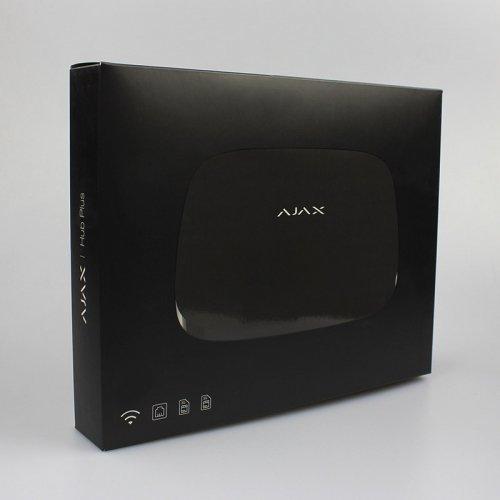 Умная централь Ajax Hub Plus черная