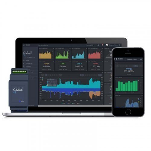 Универсальный счетчик smart-MAC D105