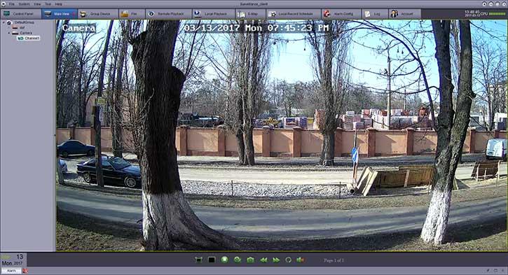 Программа для IP камеры NADZOR RS-CH292H3C-S-36P
